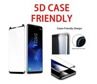 5D 9H Curved Tempered Glass Screen Guard Protector For Samsung Galaxy S6 EDGE