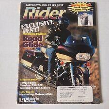 Rider Magazine 1998 Harley Davidson 1998 Honda January 1998 052617nonrh3
