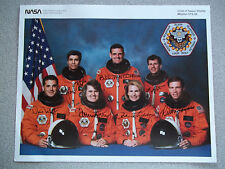 STS-58 8X10 Autographed Crew Photo