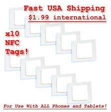 10 Quality Long Lasting NFC Sticker Tags Compatible With All Devices NTAG203
