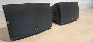 Sonance Mariner 82 - 2 x Outdoor Speakers - Black - As New + Wall Mounts