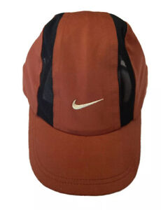 Nike Clima Fit Vintage Cap Hat With Soft Peak genuine 00s Swoosh **RARE** 🎃🎃🔥