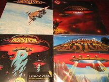BOSTON S/T + DON'T LOOK BACK + LOVE & HOPE 180 GRAM LP'S + 3RD STAGE 1986 ISSUE