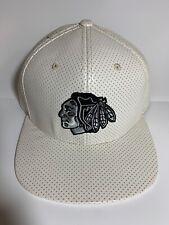 American Needle Chicago Blackhawks White Delirious Snapback Hat
