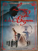 Plakat Lange Vie A La Signora Ermano Olmi Marco Esposito S.Brandalise 40x60cm