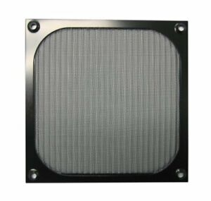 80mm Black Anodized Aluminum Computer PC Case Fan Grill/Guard/Filter