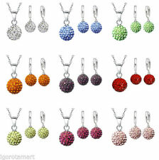 Crystal CZ Chain Costume Necklaces & Pendants