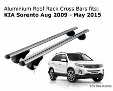 Aluminium Roof Rack Cross Bars fits KIA SORENTO XM with roof rails 10/09 - 05/15