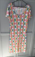 Blue Platypus Cotton Blend Dress Size L