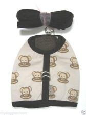 """Monkey Daze Dog Harness and Leash Med Lg XL Sizes from 14"""" to18"""" Chest CLEARANCE"""
