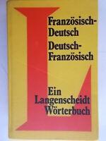 Franzosisch deutsch franzosisch langenscheidt worterbuch linguafrancese tedesco