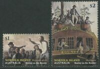 NORFOLK ISLAND: MUTINY ON THE BOUNTY 2019 - MNH SET OF TWO (R400)