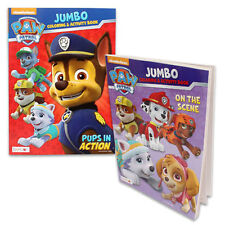 12 PAW PATROL Children Educational Coloring Activity Book Lot Party Favors