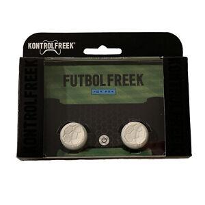 KontrolFreek Futbol Freek Thumbsticks for PS4 PS5 New White Soccer FIFA FPS