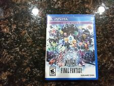 World of Final Fantasy Day One Edition (PlayStation Vita)-(NEW*FAST*SHIPPING)