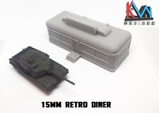 3D Printed – 15mm (1:100) Scale Retro Diner