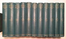 Victor Hugo 11 Volumes Illustrated 1887-1888 HC Library Edition Antique Bookset