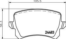 Freno Trasero Mintex MDB2888 Pad Set A Estrenar Genuino 5 Año De Garantía