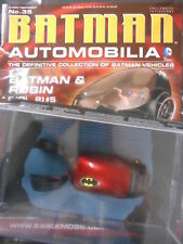 "BATMAN RACCOLTA di cimeli automobilistici # 35 ""BATMAN & ROBIN (vol 2) # 5"" (Eaglemoss) NUOVO"