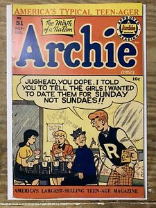 Archie #51/Golden Age Comic Book/FN