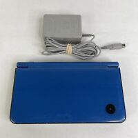 Nintendo DSi XL Blue UTL-001 Handheld System  w/ Charger AS-IS PARTS/REPAIR ONLY