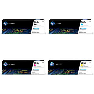 GENUINE HP205A TONER CARTRIDGES, CHOICE OF 4 COLOURS IN LOT - SENT QUICKLY