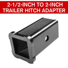 Trailer Hitch Receiver Adapter Reducer Sleeve, 2-1/2-Inch to 2-Inch For Ford GMC