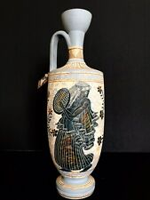 Ancient Replica Handcrafted Greek Vase Museum Quality 750 B.C. Signed
