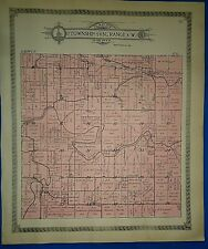 1913 SOUTH FABIUS RIVER, MISSOURI TOWNSHIP MAP Ancestry Genealogy Family History