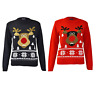 Unisex Kids Boys Girls Christmas Rudolph Jumper Xmas Novelty Pullover Sweater
