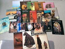 Lot of William Wegman calendars 17 Man's Best Friend Weimaraner dog + 5 Puppies