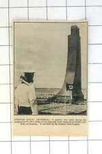1936 Hitler Inauguration Of Imposing Naval Memorial Laboe