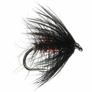 Bibio Hackled Wet Fly - Size 14 - Trout Fly Fishing