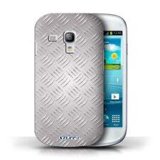 Étuis, housses et coques argentés Samsung Galaxy S en métal pour téléphone mobile et assistant personnel (PDA)
