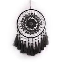 black Indian Dream Catcher Hanging Handmade Craft Car Wall Decoration Decor gift