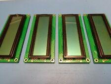 (4) GS-C16264GRJ-C/R 16x2 1602 STN REFLECTIVE GRAY LCD Display Module 5V RoHS
