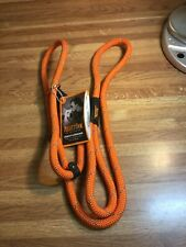 Mighty Paw Slip Rope Dog Leash Lessons 6ft One-Size-Fits-All Slip-On Rope Leash.