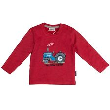 85211134 Salt & Pepper Baby Jungen Sweat Shirt Traktor Neu Gr. 68 - 86 rot