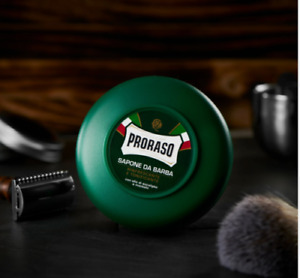 Proraso Shaving Soap in a Bowl with Eucalyptus Oil Menthol 5.2 oz Made in Italy