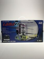 New R/C Esky Lama V3 Helicopter