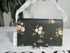 Coach F73018 Hayden Foldover Crossbody Clutch With Tossed Daisy Print