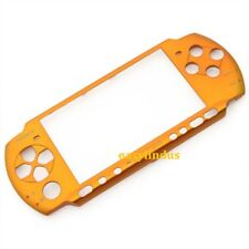 for SONY PSP metallic yellow gold FACEPLATE COVER THEME Shield FOR slim 3000 new