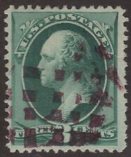 Scott # 184 3c Washington Fancy Cancel Purple