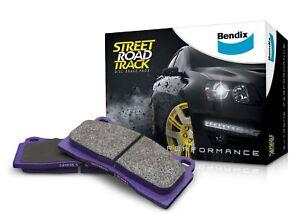 Bendix Street Road Track Brake Pad Set Front DB1355 SRT fits Holden Crewman V...