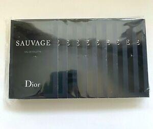 Dior SAUVAGE EDT Sample Pack (1,0 ml x 10 pcs) SET PACK