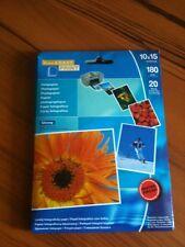Free & Easy Photo Paper 20 Blatt, 180g/m2 10x15cm, wasserfest. Neu