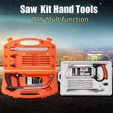 DIY Hand Tools Cutter Glass Wood Metal Saw Set Kit Multifunction NEW