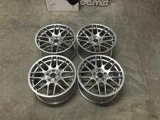 "19"" CSL Style Alloy Wheels Hyper Silver BMW DEEP CONCAVE E46 M3 E90 F10 E92 Z4M"