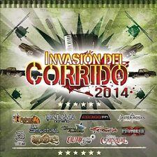 Invasión del Corrido 2014 by Various Artists (CD, Mar-2014,) NEW