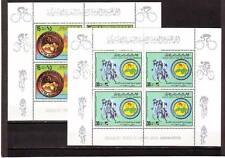 a128 - LIBYA - SG937-938 MNH 1979 JR CYCLING CHAMPIONSHIP - SHEETLETS (4 SETS)